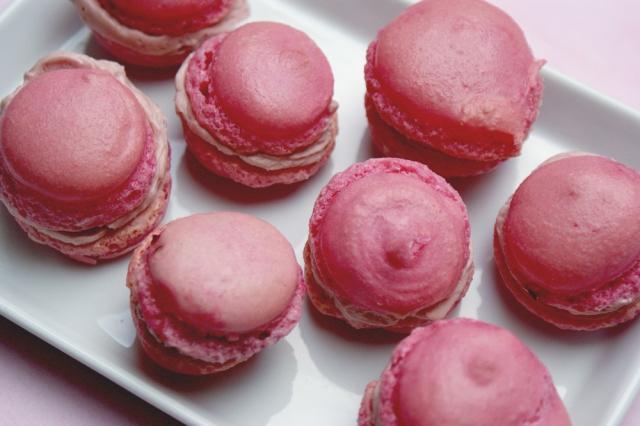 Macarons_rosé